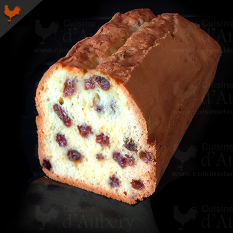 Le Cake Rhum Raisins