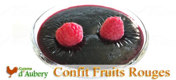 Confit de Fruits Rouges de M.O.F Stéphane Glacier