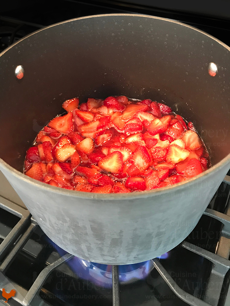 Confiture de Fraises d'Alice Waters