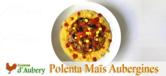 La Polenta de Maïs et Aubergines de Yotam Ottolenghi