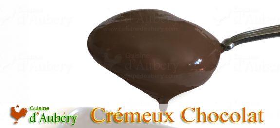 Le délicieux Crémeux Chocolat de Christophe Adam