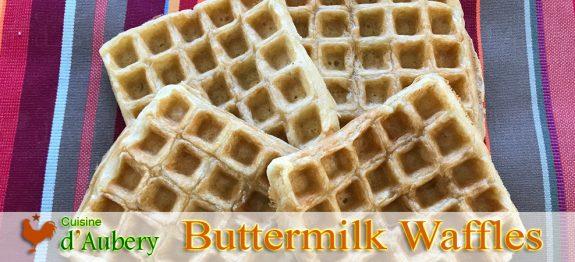 Alice Waters' Buttermilk Waffles