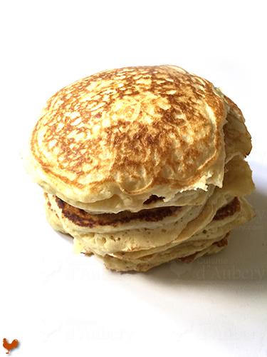 Les Pancakes moelleux et aériens