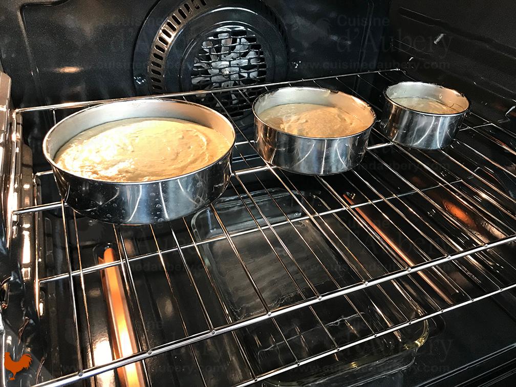 Le Biscuit à la Vanille pour Layer Cakes