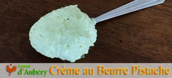 La Crème au Beurre à la Pistache de Christophe Felder