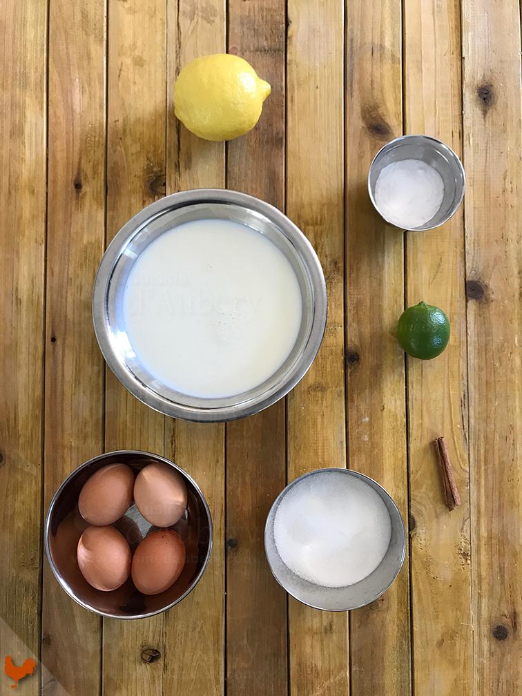 La Crème Catalane Citron Cannelle
