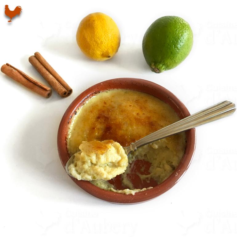 La Crème Catalane Citron Cannelle OLÉ de Christophe Michalak