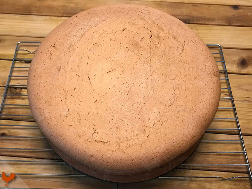 Biscuit Chiffon Cake