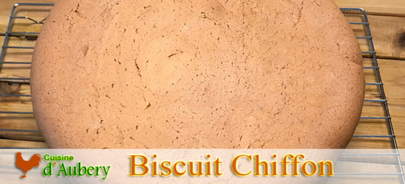 Le Biscuit Chiffon Cake de Mich Turner