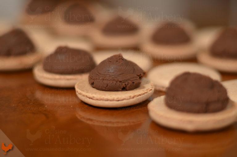 Macarons au Chocolat Lenôtre