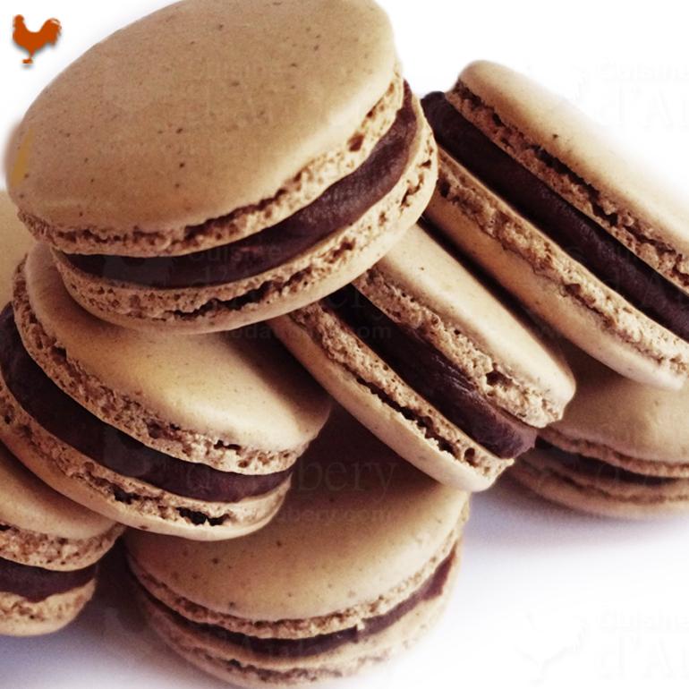 Les Macarons Chocolat de Lenôtre, un délice