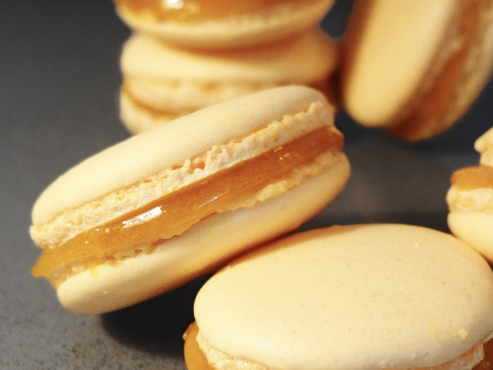 Macarons Mangue Passion