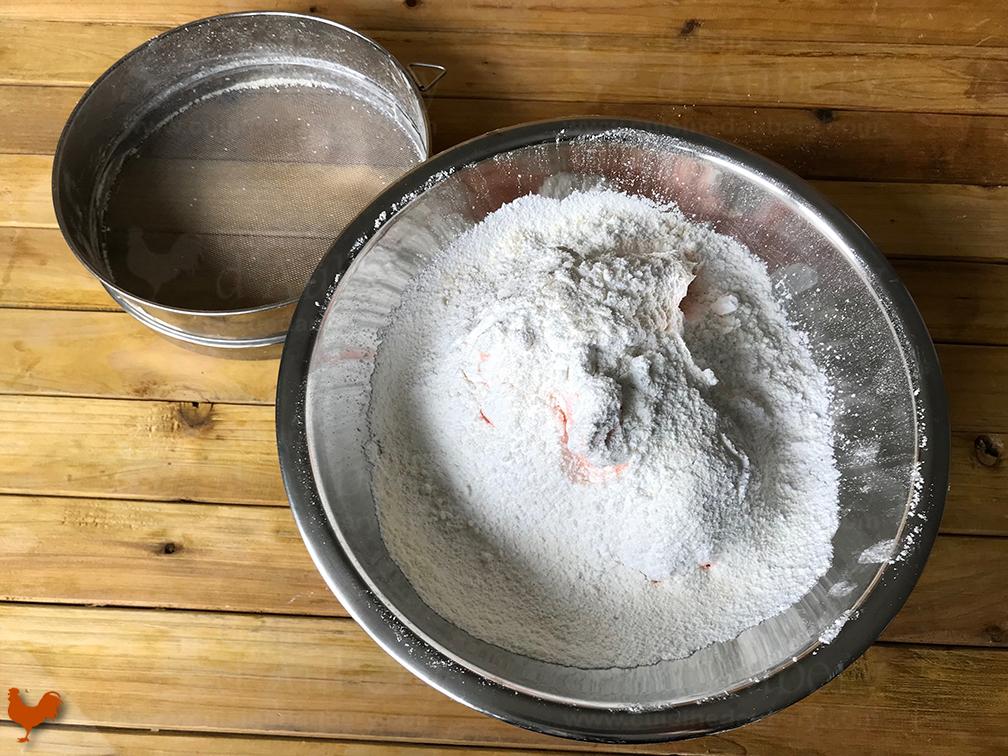 Macaron, version meringue Française
