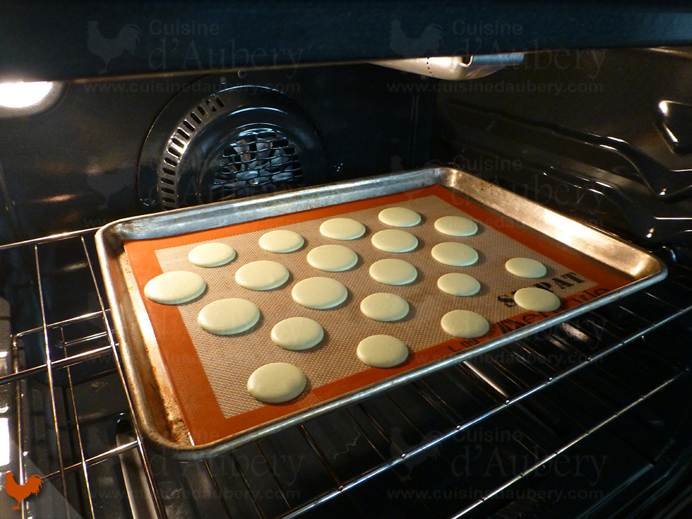 Macaron, version meringue Italienne