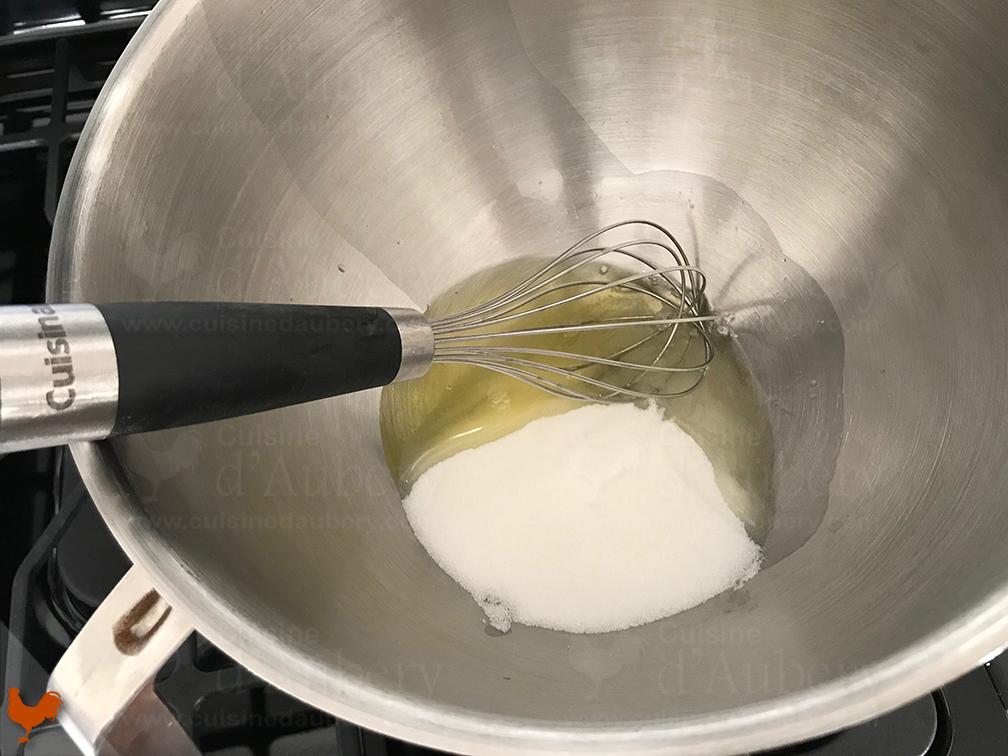 Macaron, version meringue Suisse