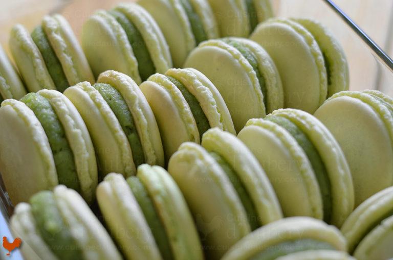 Les Macarons Pistache