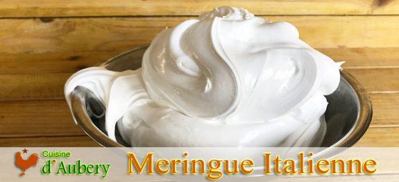 La Meringue Italienne de Lenôtre