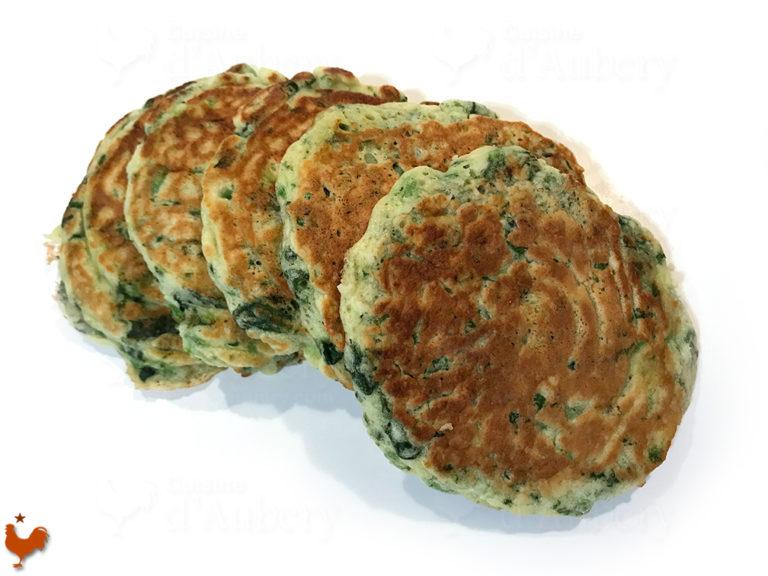 Les Pancakes Verts de Yotam Ottolenghi