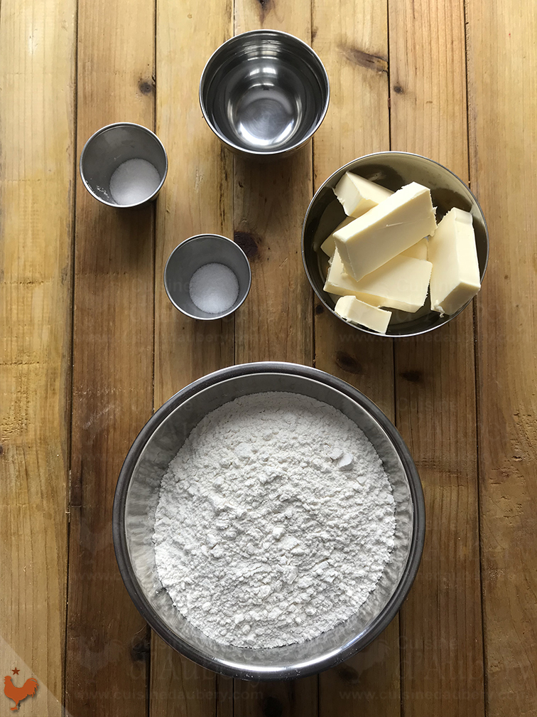 Jacques Pépin's Shortcrust Pastry Dough