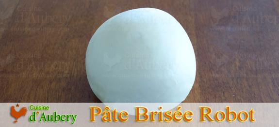 La Pâte Brisée de Jacques Pépin (méthode 2 : Au robot à lame)