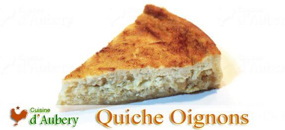 L'exquise Quiche au Confit d'Oignons de Thomas Keller, 3 étoiles Michelin