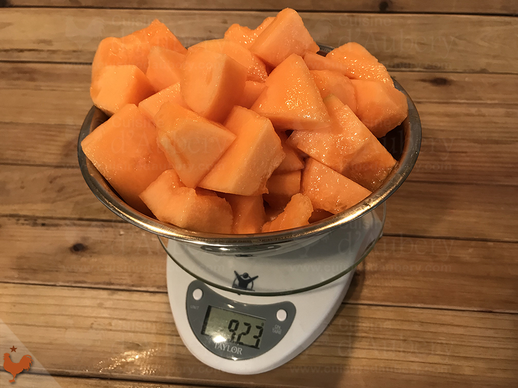Sorbet au Melon