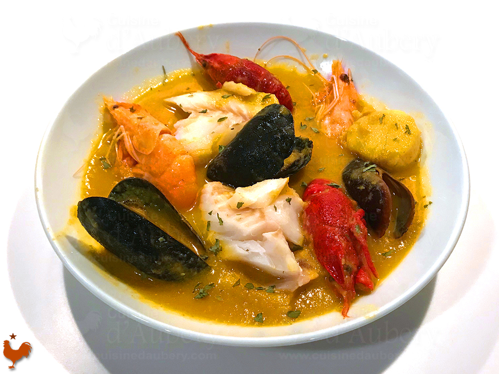 Fish with French Bouillabaisse Sauce