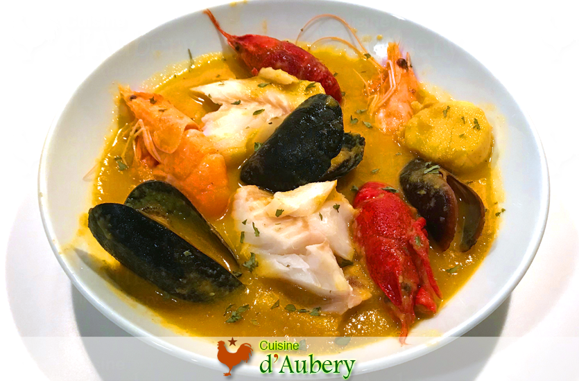 French Fish Bouillabaisse (Stew)