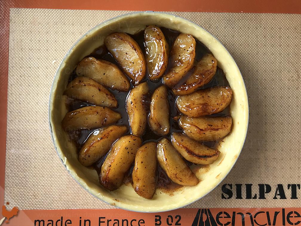 La Tarte Ananas Passion de James Berthier