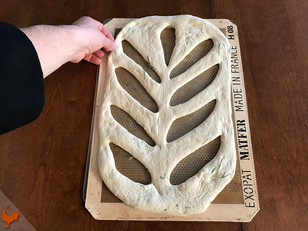 Cyril Hitz's French Fougasse Bread