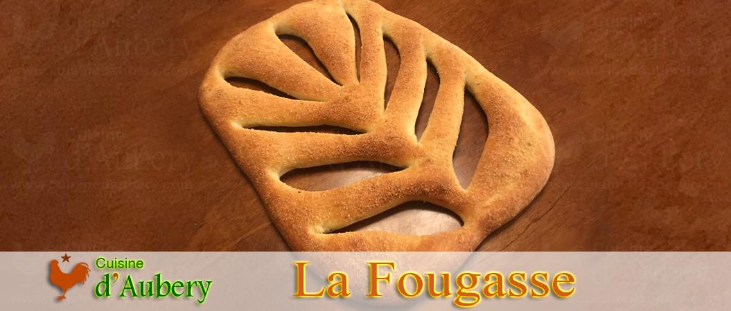 La Fougasse Olives Romarin de Cyril Hitz (Méthode 3: Poolish)