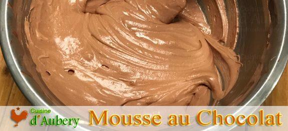 La Mousse Chocolat de Thomas Keller (méthode 2: Sabayon)