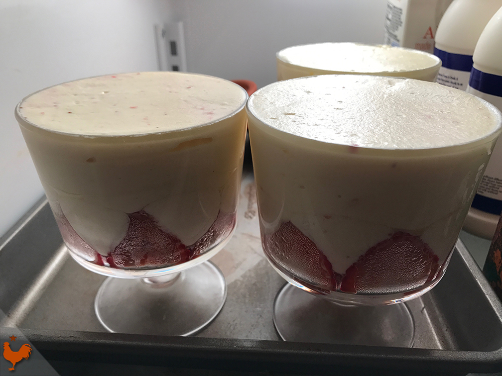 Felder's Strawberry Tiramisu