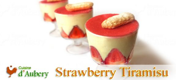 Christophe Felder's Strawberry Tiramisu