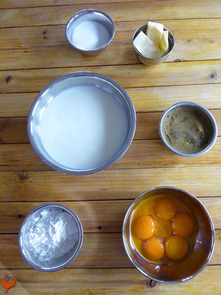 Crème Pâtissière Pistache