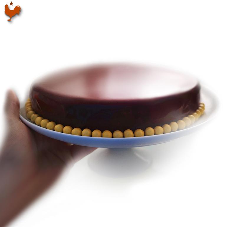 Le Glaçage Miroir Chocolat pour Entremets de Thomas Keller