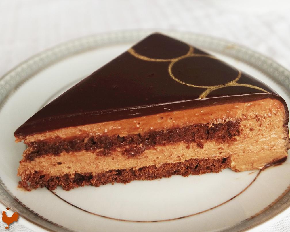 Le Glaçage Miroir Chocolat pour Entremets
