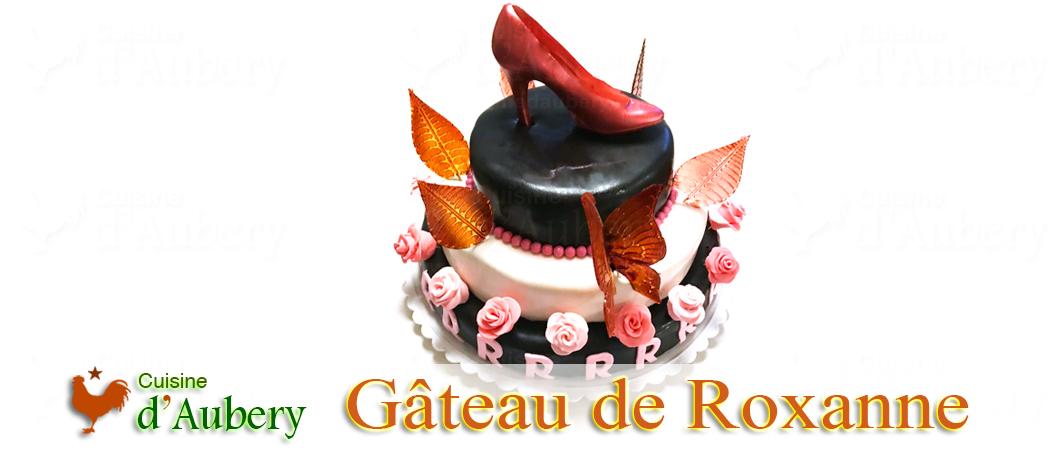Le Gâteau d'anniversaire de Roxanne
