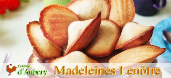 Les Madeleines Vanille de Lenôtre