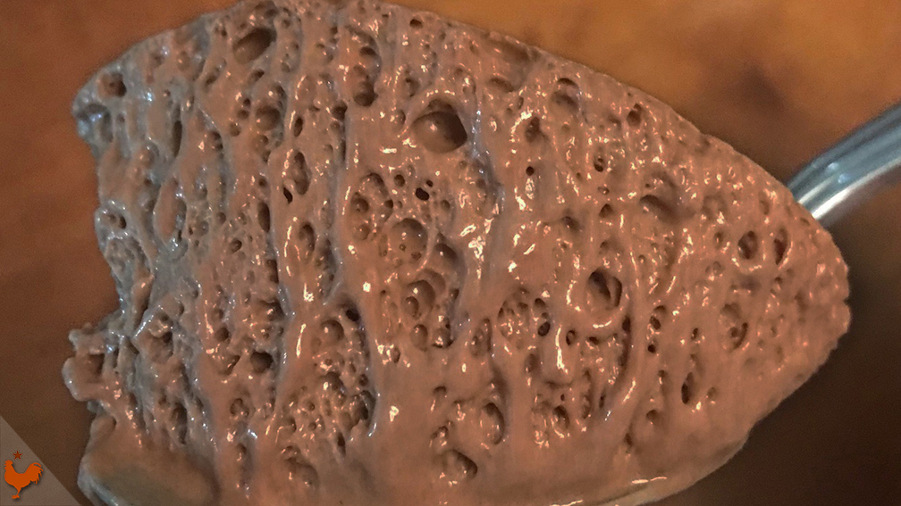 Mousse Chocolat au sabayon de Thomas Keller