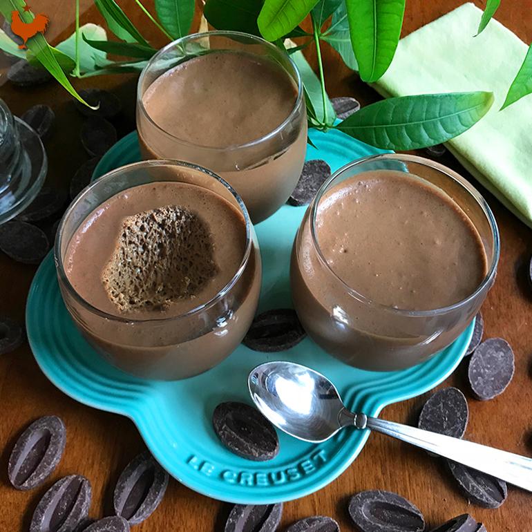 La Mousse Chocolat de Pierre Hermé (méthode 3: Blancs Montés) (rien que pour Camilla)