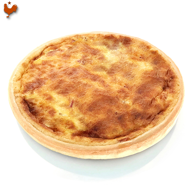 Paul Bocuse's Quiche Lorraine (the chef of the century)
