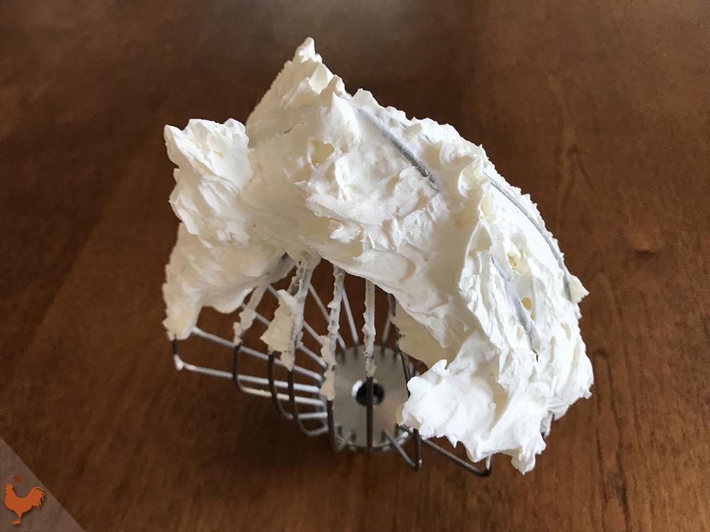 Crème Mascarpone à la pâte à bombe