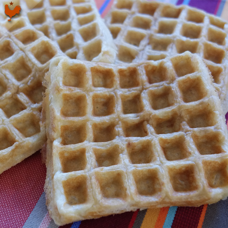 Alice Waters' Buttermilk Waffles
