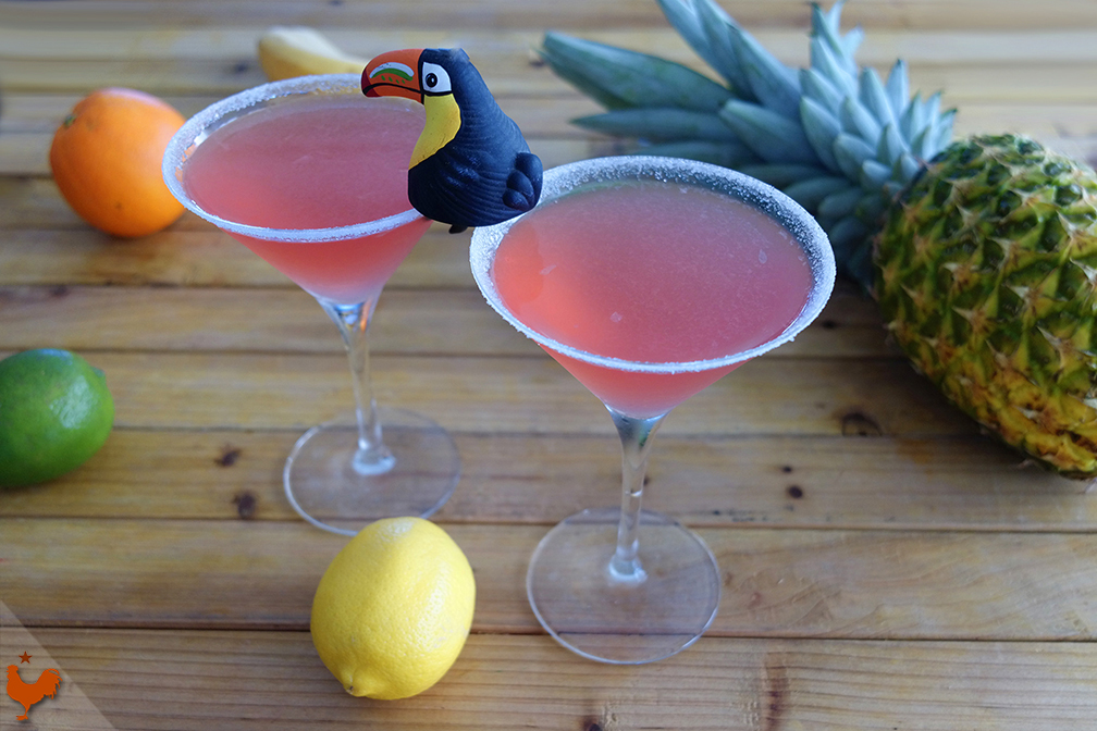 Le Cocktail Lemon Drop à la Grenade