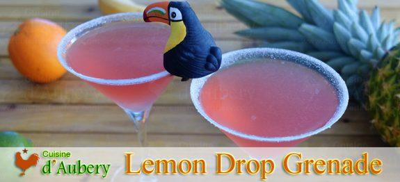 Le Cocktail Lemon Drop à la Grenade, comme au Ritz