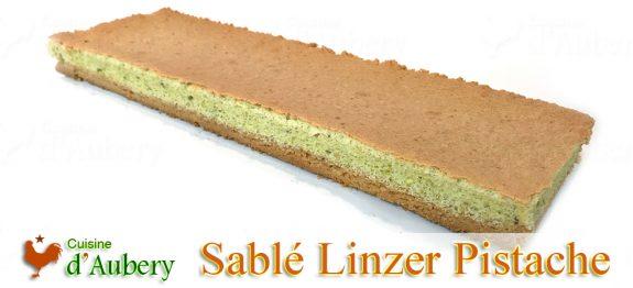 Le Sablé Linzer Moelleux Pistache de Christophe Michalak