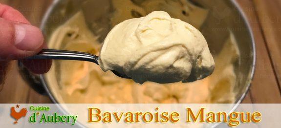 La Mousse Bavaroise à la Mangue de Josselin Rimbod