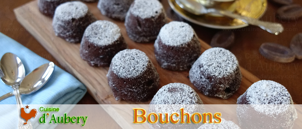 Thomas Keller's Chocolate Bouchons (French brownie cakes)