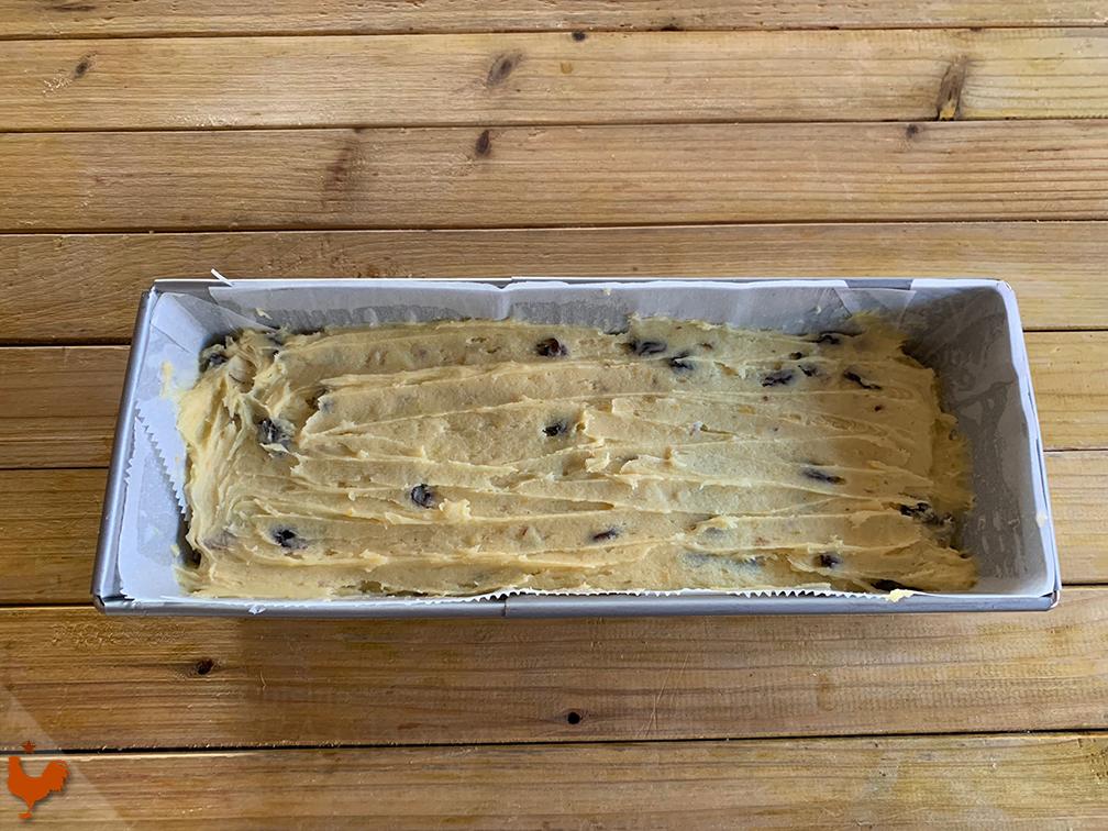 Cake Raisins et Grand Marnier